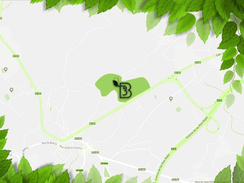 casa rural briabi pontevedra mapa